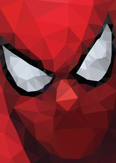 SPIDER MAN  by Lise Halluin, via Behance