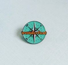 """***OCT 12th UPDATE: orders placed between now and Nov 6th will not be shipped until November 7th***Limited edition soft enamel pin measuring 1"""" in diameter. It comes as standard with a rub..."""