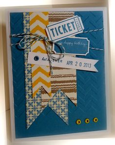 Just love this ticket punch.  Has become my new favorite on the shelf