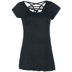 Penta Strap Top - T-Shirt - Gothicana by EMP