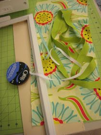craftiness is not optional: bow/clippy holder tutorial