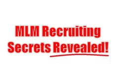 Want to learn how I sponsored over 1600 people into my primary business? I reveal it here in my MLM Recruiting secrets blog post. This will blow you away!