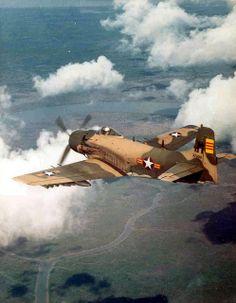 Douglas A-1H Skyraider by D. Sheley, via Flickr