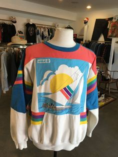 Vintage Adidas Sweatshirt by TimeMachineVintageCA on Etsy