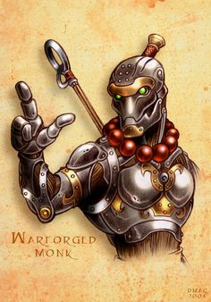warforged monk