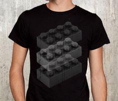 Black Legos T-Shirt