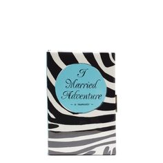 I Married Adventure book Clutch, Kate Spade