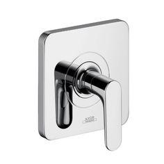 hansgrohe axor citterio m lever handle shut off valve