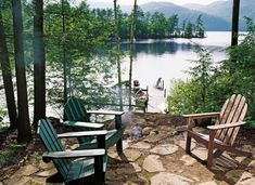 Classy Idea Small Lake House Decorating Ideas For A Home Decor Bedroom with decorating ideas for a small lake house, small lake house decorating ideas. Added on March 2018 on Home Design Interior Lake Cabins, Cabins And Cottages, Lakeside Living, Outdoor Living, Small Lake, Lake Cottage, Exterior, Cabins In The Woods, Cabin On The Lake