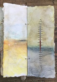Landscape Drawing Book Recommendations Fresh A Book Of Landscapes Roxanne Evans Stout Handmade Journals, Handmade Books, Handmade Art, Handmade Rugs, Artist Journal, Art Journal Pages, Art Journaling, Journal Covers, Fabric Journals