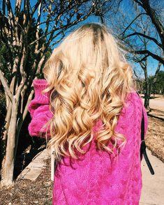 Glamorous Blonde Cur