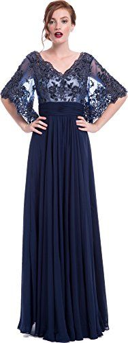 Lace Bell Sleeve Mother of the Bride Dress, S, Navy PacificPlex http://www.amazon.com/dp/B00W4KHBME/ref=cm_sw_r_pi_dp_YFWDvb1SK2J8N