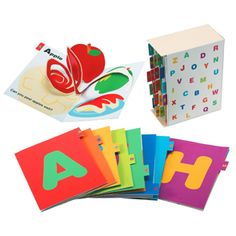 Printable pop up book for each letter of the alphabet that fits in a printable box; need to print out a letter to see how well it works; I love this pic, thanks Have a look at this post about pop up alphabets.