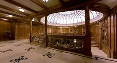 The Glass Dome, The Grand Staircase