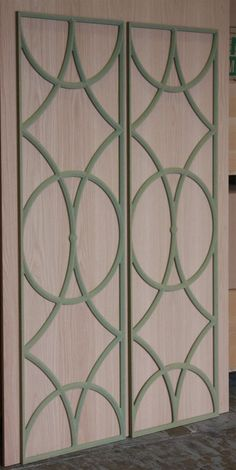 CNC Routing :: Decorative Panels and Shapes - possible for wardrobes??