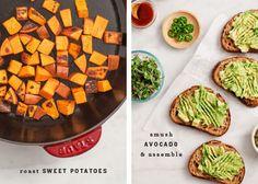 Loaded Sweet Potato Avocado Toast