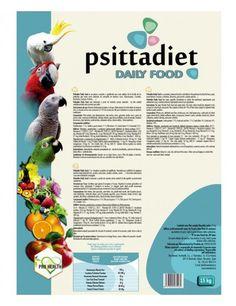Psittadiet Daily food