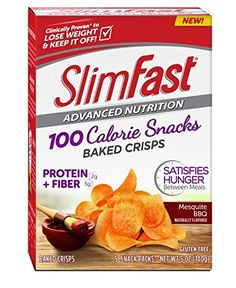 Slim Fast Advanced Potato Baked Crisps Snacks, Mesquite BBQ, 5 Count Slim-Fast http://www.amazon.com/dp/B016ZG0PM0/ref=cm_sw_r_pi_dp_qXBLwb1TJ1N53