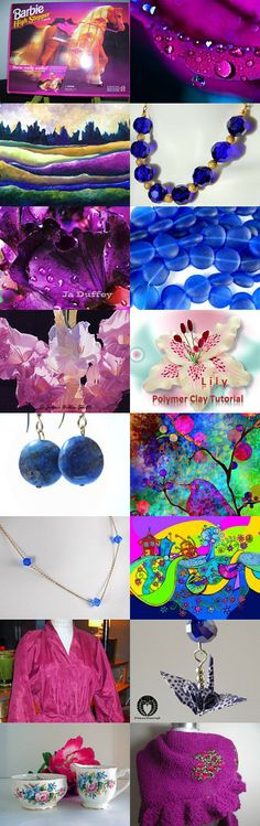 WOW, the Colors!!!!!!! by Deborah Muller on Etsy--Pinned with TreasuryPin.com