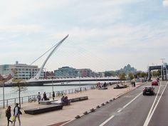 Samuel Beckett bridge Samuel Beckett Bridge, Dublin, City, Cities