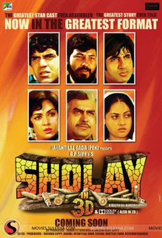 Gabbar, Jai, Veeru and Basanti is back: The 3D Version of Sholay : Movie Review : 2.5 Stars #Sholay3D #Sholay3DMovie #Sholay #AmitabhBachchan #Dharmendra #HemaMalini #Entertainment #2014 #Bollywood #HindiMovie #MovieReview