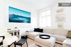 Living room color palette inspiration - Copenhagen apartment