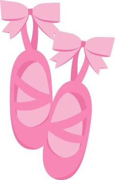 free clip art of pretty pink ballet shoes sweet clip art rh pinterest com ballet shoes clipart png
