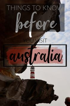 What to Know Before Coming to Australia – Prins in Oz