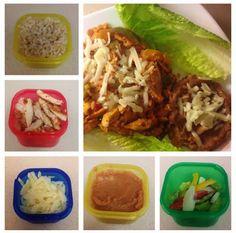 Brooke's blog: Chicken Fajita Rice with Refried beans (21 DAY FIX...
