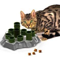 Aikiou AIK257 Stimulo Activity Food Center for Cats