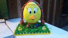Maxi velikonoční vajíčko.