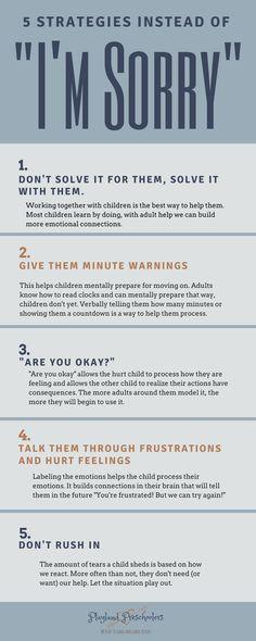 How Children Resolve Conflict   Playland Preschoolers