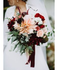 11 Fall Wedding Bouquet Ideas - DuJour