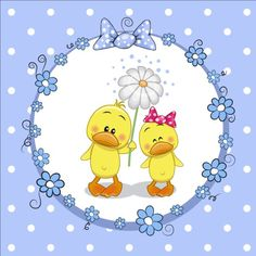 lovely cartoon animal with baby cards vectors 01 Duck Cartoon, Cartoon Elephant, Cartoon Network, Duck Pictures, Baby Art, Cute Images, Free Coloring, Animal Drawings, Cute Art