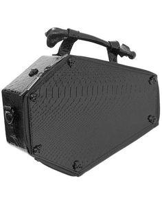 Skull Stud Croc Coffin Purse Bag by Kreepsville 666 Gucci Handbags 7f816bb59aa98