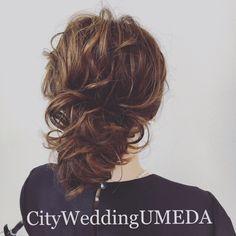 【最新お洒落ヘアアレンジ 10選 結婚式の髪型特集】 の画像 City Wedding UMEDA 【京都神戸全国】 ブライダルヘアメイク出張☆メイクレッスン blog