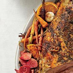 Roasted Beets, Carrots, and Sweet Onions | MyRecipes.com