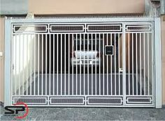 Discover recipes, home ideas, style inspiration and other ideas to try. Grill Gate Design, Steel Gate Design, Front Gate Design, House Gate Design, Door Gate Design, Fence Design, Simple Gate Designs, Modern Main Gate Designs, Backyard Gates