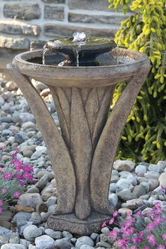 "27"" Two Tier Meadows Glow Fountain 