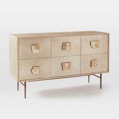 Roar + Rabbit Jeweled 6-Drawer Dresser | west elm