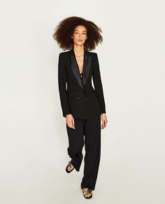 ZARA - COLLECTION AW/17 - DOUBLE BREASTED FROCK COAT