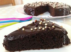 C@hier de recettes...des pigeons voyageurs!!: Gâteau au Chocolat...Moelleux...Délicieux!