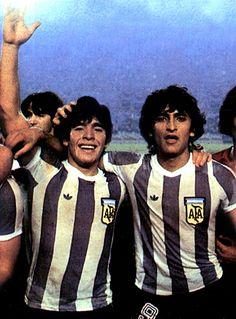 Maradona y Diaz