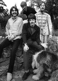 Beatles with Martha