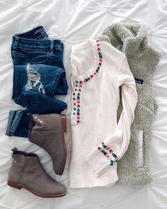 IG - @sunsetsandstilettos - #casual #outfit #inspiration #spring