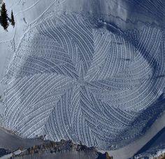 Simon Beck, le roi des neiges | MinuteBuzz.com