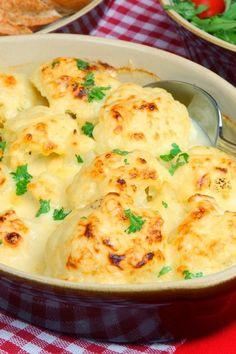 Cooking Pinterest: Oven-Roasted Cauliflower Recipe