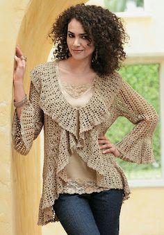 innovart en crochet: clothing - haven't checked website, pic for ideas