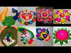 Rangoli is an art form, originating in the Indian subcontinent, in which patterns are created on the floor or the ground using materials such as colored rice. Rangoli Ideas, Colorful Rangoli Designs, Rangoli Designs Diwali, Diwali Rangoli, Colored Rice, Colored Sand, Hamsa Design, Sunflower Wallpaper, Red Bricks
