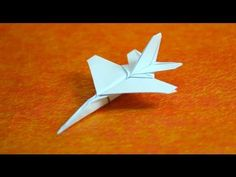 How to make origami jet fighter paper airplanes step by step DIY tutorial instructions Diy Origami, Origami Plane, Origami And Kirigami, Origami Paper Art, How To Make Origami, How To Make Paper, Paper Crafts, Origami Dress, Origami Folding
